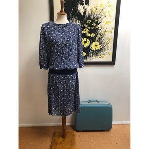 #newtocloset Sweet Vintage Floral Print Dress